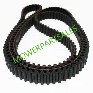 "Castel Garden Twin Cut Toothed Timing Belt Fits 40"" / 102cm Deck Models TC102 TCP102 TCR102 TCX102 12.5/102 Replaces Castle Garden 35065600/0"